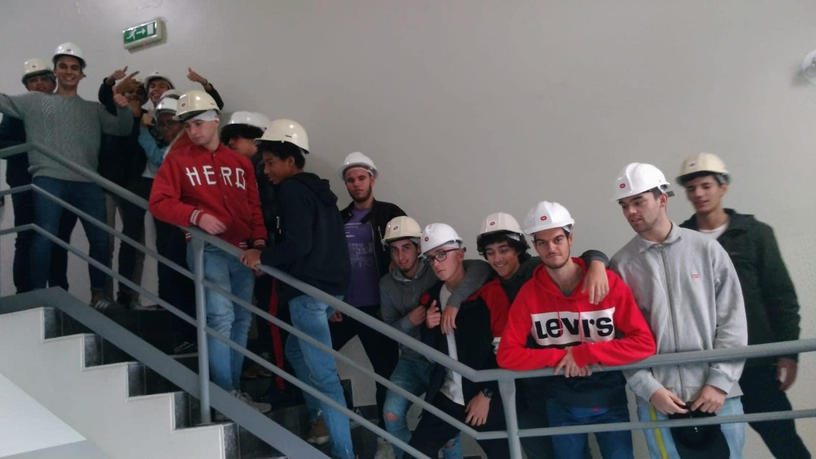 Visita de estudo à Central Termoelétrica do Carregado