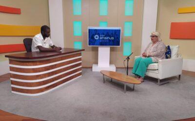 Dra. Teresa Damásio, Administradora do Grupo Ensinus em entrevista à RTP África