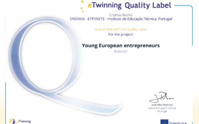 Projeto Young European Entrepreneurs recebe selo nacional de Qualidade